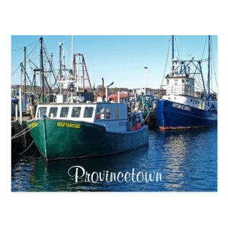 Port de Cape Cod Provincetown, carte postale de