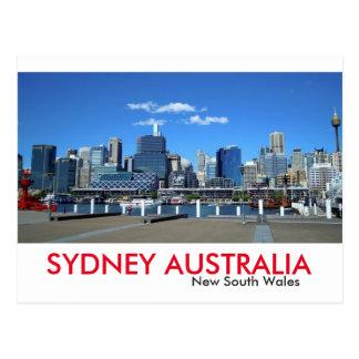 Port de chouchou de Sydney Cartes Postales