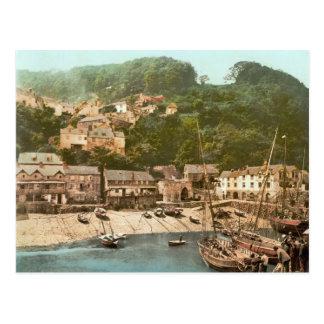 Port de Clovelly, Torridge, Devon, c.1895 Carte Postale