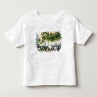 Port de Hanarourou dans les îles de sandwich T-shirt Pour Les Tous Petits