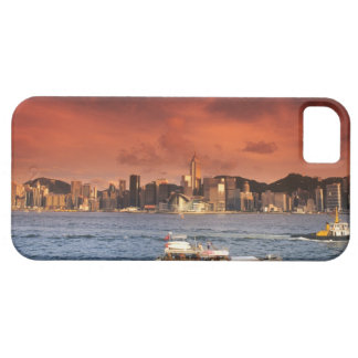 Port de Hong Kong au coucher du soleil Coques Case-Mate iPhone 5