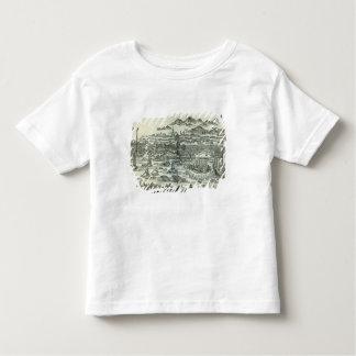Port de la ville du canton t-shirt pour les tous petits