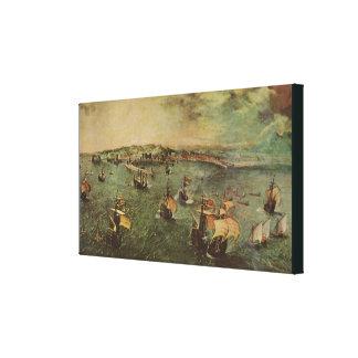 Port de Naples par Pieter Bruegel l'aîné Toile
