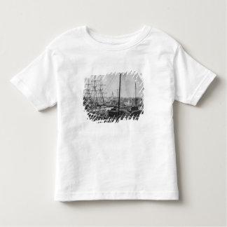 Port de pêche à la baleine, New Bedford T-shirt Pour Les Tous Petits