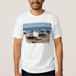 Port de pêche de Yport en France T-shirt