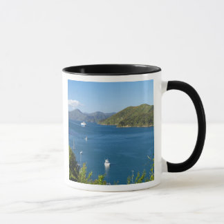 Port de Picton, bruits de Marlborough, sud Mug