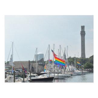 Port de Provincetown Carte Postale