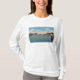 Port de Rochester et milice navale de NY T-shirt