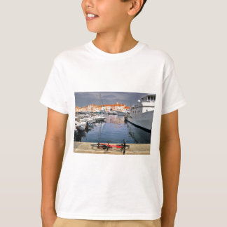 Port de Saint-Tropez en France T-shirt