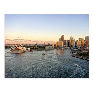 Port de Sydney - Australie - carte postale