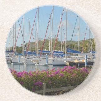 Port de yacht de Gorda de Vierge Dessous De Verres
