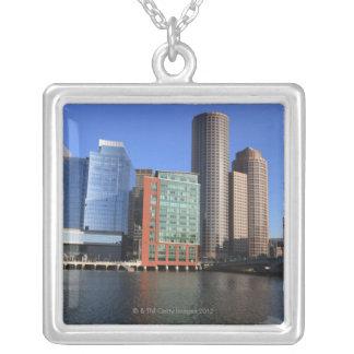 Port et horizon de Boston.  Boston est l'un des 4 Pendentif Carré