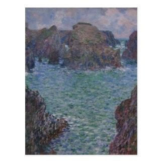 "Port-Goulphar de Claude Monet récapitulatif "", bel Cartes Postales"