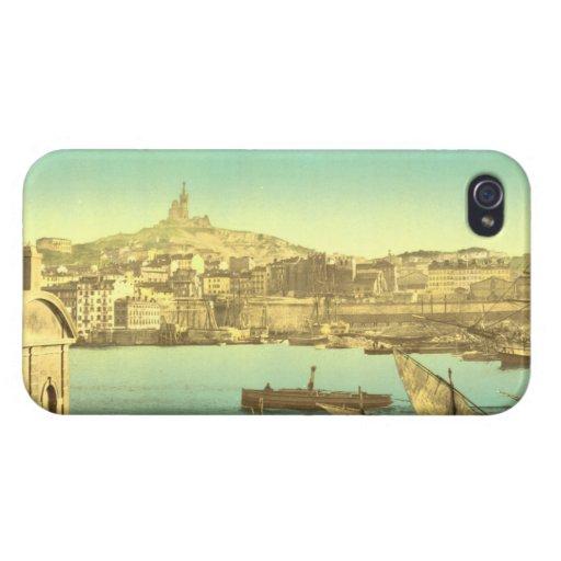 Port I, France de Marseille Coque iPhone 4/4S