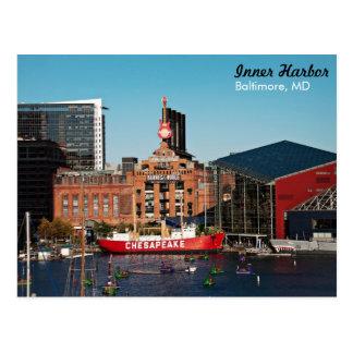 Port intérieur de Baltimore - centrale Cartes Postales