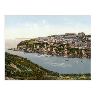 Port Isaac, les Cornouailles, Angleterre c.1895 Carte Postale