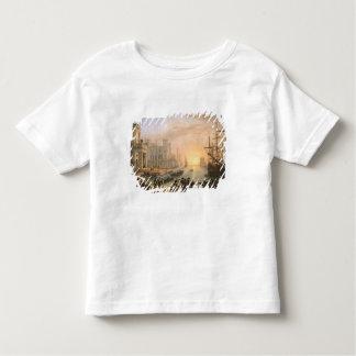 Port maritime au coucher du soleil, 1639 t-shirt pour les tous petits