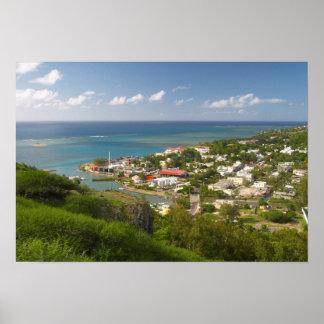 Port Mathurin, île de Rodrigues, Îles Maurice Posters