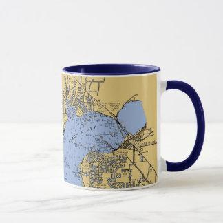 Port tasse nautique de diagramme de Charlotte, la