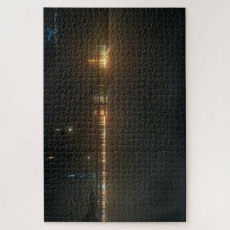 Port Townsend au puzzle de nuit