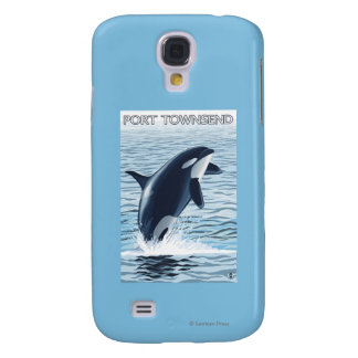 Port Townsend, sauter de WashingtonOrca Coque Galaxy S4