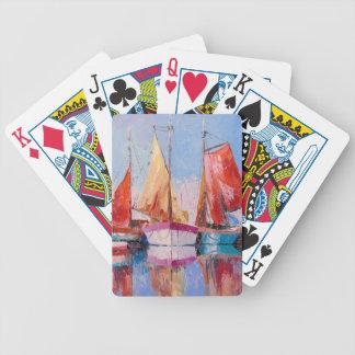 Port tranquille jeu de cartes