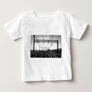 Port vintage grand Huron MI de yards ferroviaires T-shirt Pour Bébé