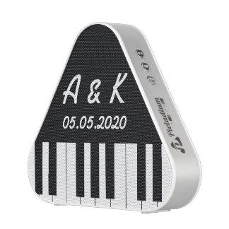 Portable commémoratif de mariage de clavier de haut-parleur bluetooth