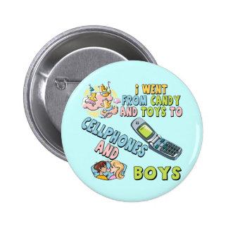 Portables et T-shirts et cadeaux de garçons pour e Badge Rond 5 Cm