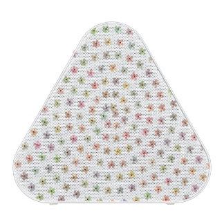  portatif floral blanc de haut-parleur de haut-parleur bluetooth