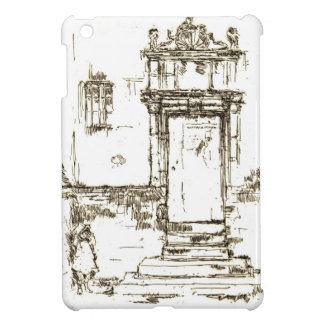 Porte 1840 de chapelle de Montresor Coques iPad Mini