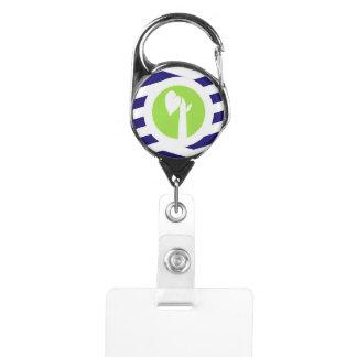 Porte-badge Porte-clés escamotable de TGPM