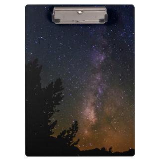Porte-bloc Ciel nocturne de manière laiteuse, la Californie