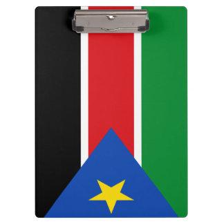 Porte-bloc Drapeau du sud du Soudan