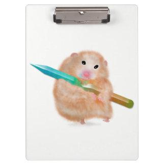 Porte - bloc drôle de hamster par des conceptions