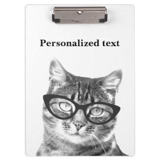 Porte - bloc drôle de photo de chat pour le