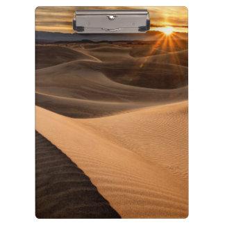 Porte-bloc Dunes de sable d'or, Death Valley, CA