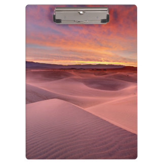 Porte-bloc Dunes de sable roses, Death Valley, CA