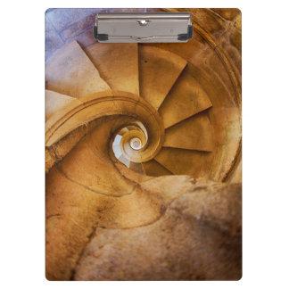 Porte-bloc Escalier de haut en bas de spirl, Portugal