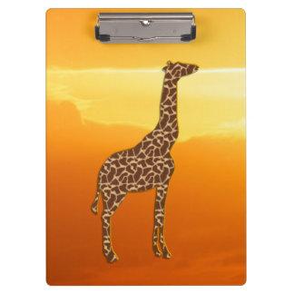 Porte-bloc Girafe 2