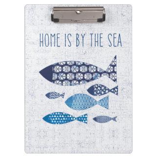 Porte-bloc La maison côtière de l'art | est par la mer