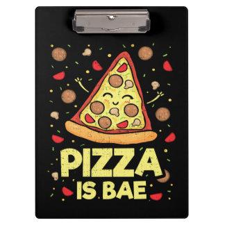 Porte-bloc La pizza est Bae - bande dessinée drôle mignonne
