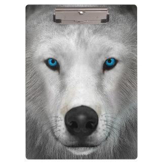 Porte-bloc Loup arctique