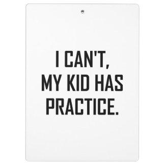 Porte-bloc Mon enfant a la pratique drôle