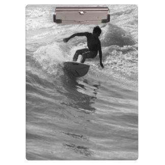 Porte-bloc Monte de la gamme de gris de vague