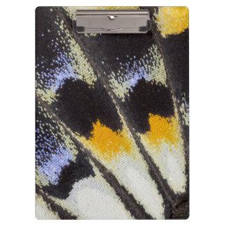 Porte-bloc Motif multicolore d'aile de papillon