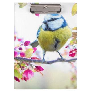 Porte-bloc Oiseau mignon