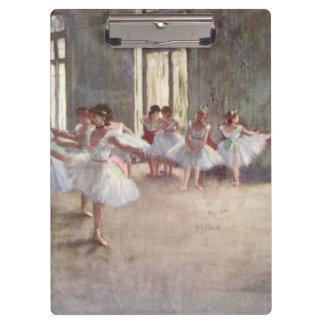 Porte-bloc Ont dégazé la répétition de ballet