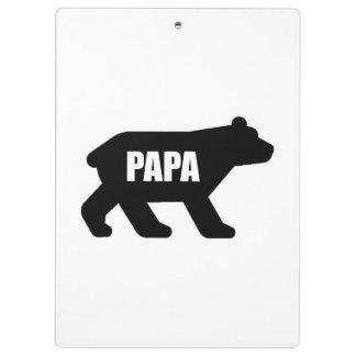Porte-bloc Ours de papa
