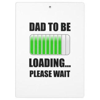 Porte-bloc Papa à charger